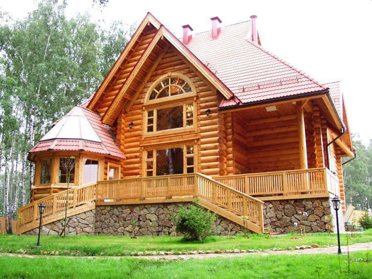 Как старый дом сделать красивым
